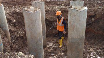 pekerjaan treatment termite raya pra kontruksi